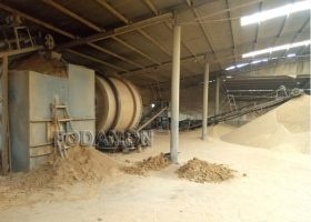 Standards of quartz sand